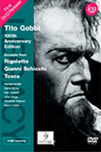 DVD Tito Gobbi 100th Anniversary Edition